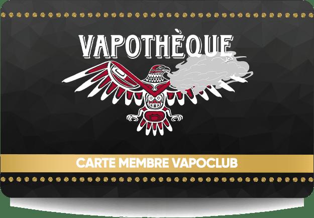 Carte de membre VAPOCLUB