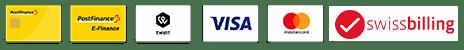 Paiements e-liquide, e-vape, vape, twint, postfinance, mastercard, paypal
