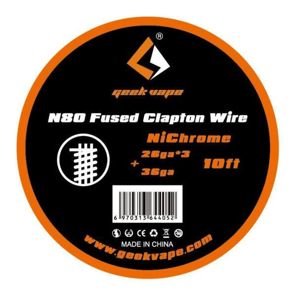 Geekvape - Bobine NI80 Fused Clapton Wire