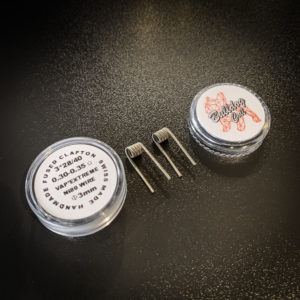 Bulldog Coils - Pack de 2 coils Fused Clapton NI80 - 3*28/40 Ø3mm