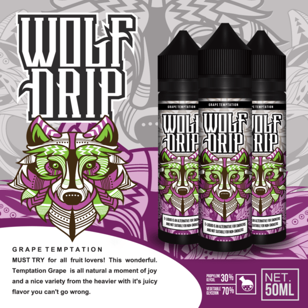 Wolf Drip Grape Temptation 50ml
