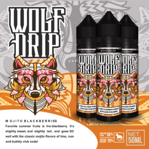 Wolf Drip Mojito Blackberry 50ml