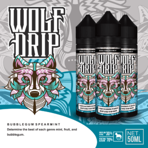 Wolf Drip Bubblegum Spearmint 50ml